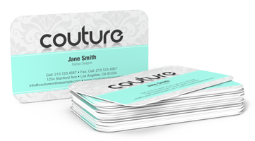 Round Corner Business Card Printing